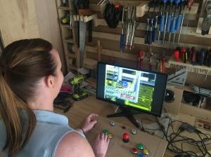 Raspberry Pi Arcade Prototype