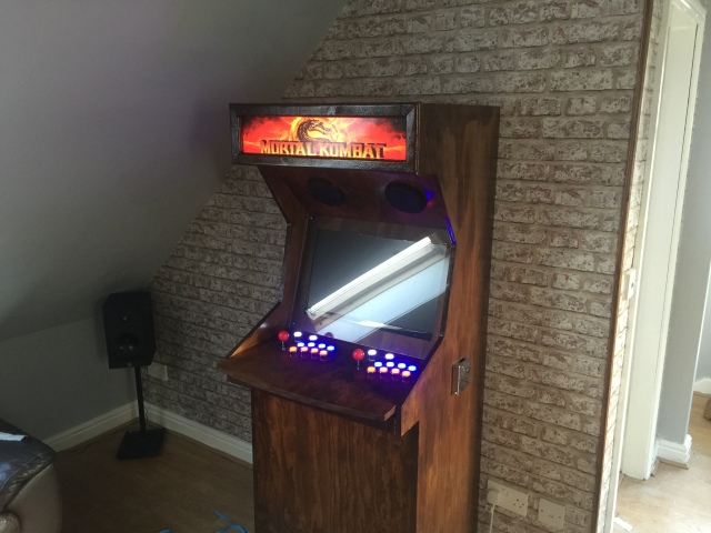 Raspberry Pi Arcade Machine